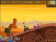 Флеш игра онлайн Рисованная гонка / Toon Racing