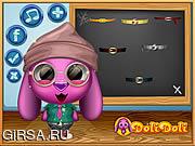 Флеш игра онлайн Toto Goes To School