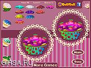 Флеш игра онлайн Toto's Cupcakes