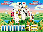 Флеш игра онлайн Пасьянс Башня / Tower Solitaire