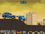 Флеш игра онлайн Буксировка грузовиков / Towing Truck