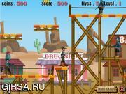 Флеш игра онлайн Town of Thieves