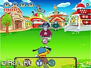 Флеш игра онлайн Toon Town  - Town Shoot