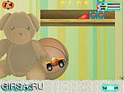 Флеш игра онлайн Игрушка Приключения / Toy Car Adventure