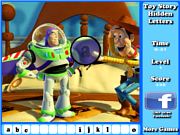 Флеш игра онлайн Toy Story Hidden Letters Game