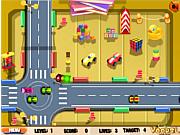 Флеш игра онлайн Движение под контролем / Toy Traffic Control