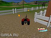 Флеш игра онлайн Трактор в ферме
