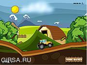 Флеш игра онлайн Tractor Racer
