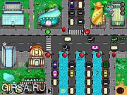 Флеш игра онлайн Тяжелый трафик