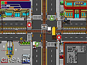 Флеш игра онлайн Traffic Mania