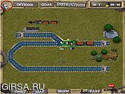 Флеш игра онлайн Trains