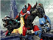 Флеш игра онлайн Трансформеры. Мозайка / Transformers Jigsaw