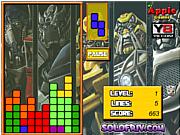 Флеш игра онлайн Transformers Tetris