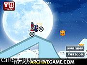 Флеш игра онлайн Трансформеры-Новогодние Гонки