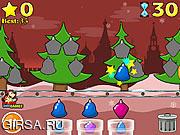 Флеш игра онлайн Нарядная елочка / Treesmas