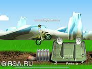 Флеш игра онлайн Велотриал