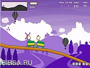 Флеш игра онлайн Trolleez Coaster