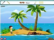 Флеш игра онлайн Освобождение из тропического острова