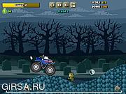 Флеш игра онлайн Грузовик с зомби