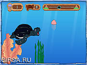 Флеш игра онлайн Tuga the Sea Turtle