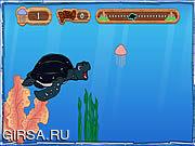 Флеш игра онлайн Tuga the Sea Turtle