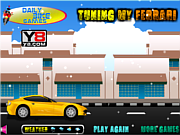 Флеш игра онлайн Тюнинг Ferrari / Tuning My Ferrari Game