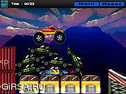 Флеш игра онлайн Тележка 2 Turbo / Turbo Truck 2