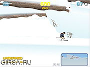 Флеш игра онлайн Снежные приключения