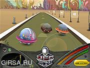 Флеш игра онлайн Гонки НЛО