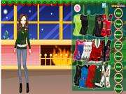 Флеш игра онлайн Рождественскуий антигламур / Ugly Christmas Sweater