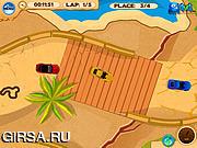 Флеш игра онлайн Уникальная гонка / Ultimate Island Racing