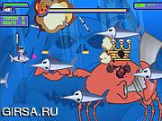 Флеш игра онлайн Типичное сражение рака / Ultimate Crab Battle