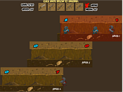 Флеш игра онлайн Underground War 2