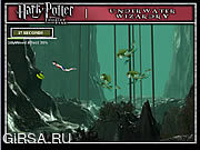 Флеш игра онлайн Harry Potter Underwater Wizardry