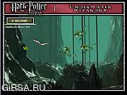 Флеш игра онлайн Подводный Волшебства Гарри Поттер
