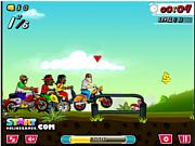 Флеш игра онлайн Urban Bike Races