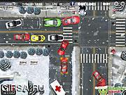 Флеш игра онлайн V8 Winter Parking