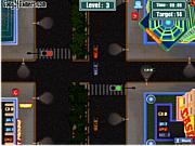 Флеш игра онлайн Трафик в Вегасе / Vegas Traffic Mayhem