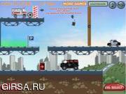 Флеш игра онлайн Веселая парковка / Vehicles Level Park