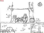 Флеш игра онлайн Против! a.k.a. Пиво и сухарики