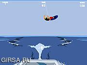 Флеш игра онлайн Вейкбординг / Wakeboarding