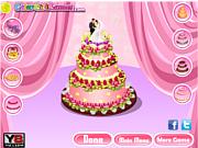 Флеш игра онлайн Проблема свадебного торта / Wedding Cake Challenge