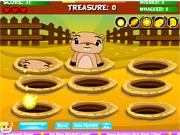Флеш игра онлайн Нападение моли / Whack a Mole - Search For the Stolen Treasure