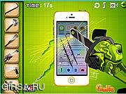 Флеш игра онлайн Разбей мой телефон!