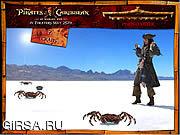 Флеш игра онлайн Пираты карибского море - сильный удар