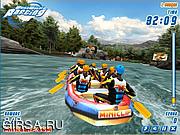Флеш игра онлайн White Water Rafting