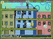 Флеш игра онлайн Развлечения Губки Боба