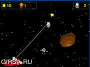 Флеш игра онлайн Wigginaut Space Game