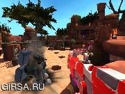 Флеш игра онлайн Дикие Войны