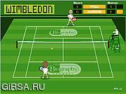 Флеш игра онлайн Герой Уимбелдона